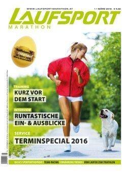 Laufsport Marathon - titel