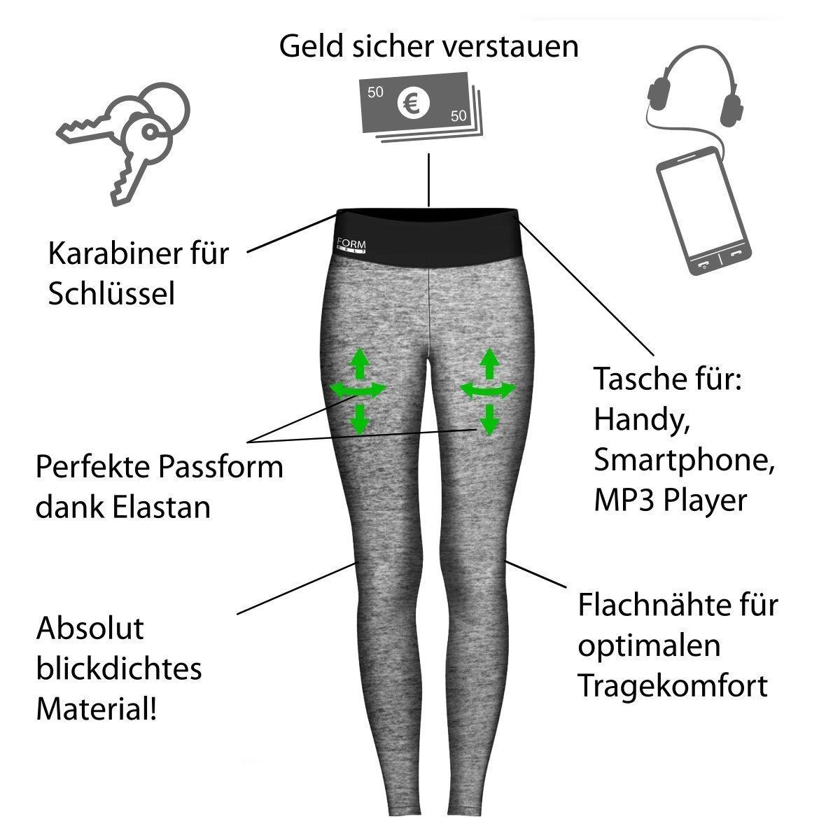 Damen-Laufhose-grau-Infografik