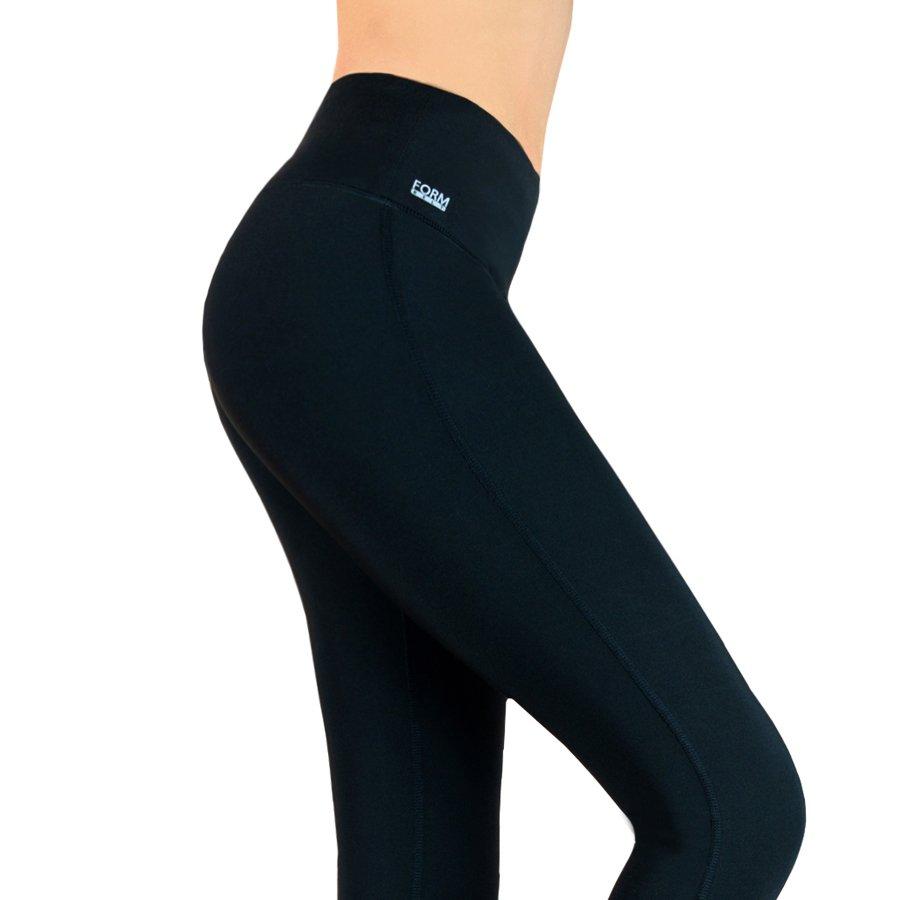 Damen Sport Leggings schwarz mit Taschen für das Handy
