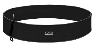 Laufgürtel Formbelt - Schwarz