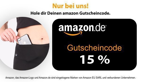 amazon Gutscheincode - Rabatt Laufhose