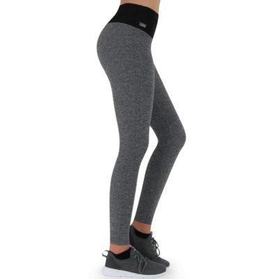 Formbelt-Laufhose-Damen-mit-Taschen-Grau