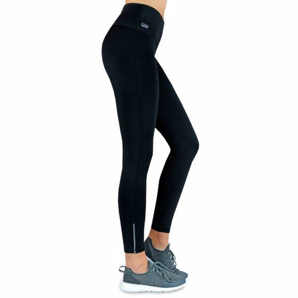 Formbelt-Laufhose-Damen-mit-Taschen-THERMO-Schwarz