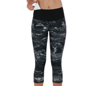 Formbelt-Sport-Leggings-Damen-Capri-dreiviertel-Hüfttasche-marmor-01