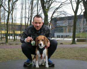 laufen hund training