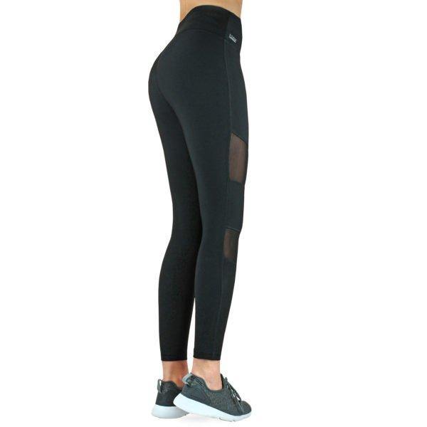 Fitness Leggings Damen Mesh Formbelt