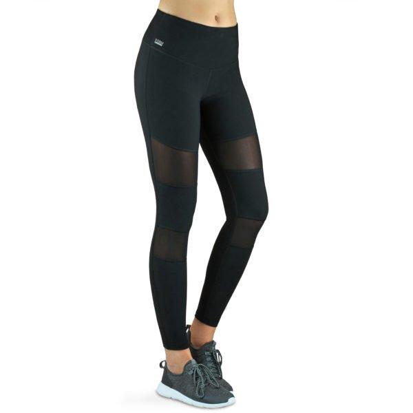 formbelt sport leggings damen mesh einsätze